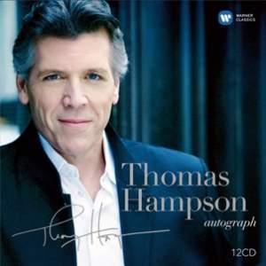 Thomas Hampson: Autograph