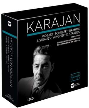 Karajan conducts Mozart, Schubert, Brahms, Strauss, Wagner