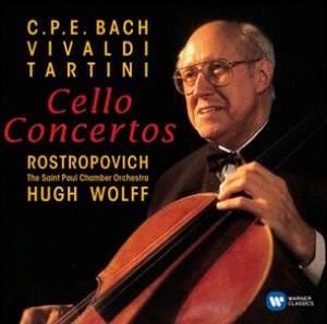 CPE Bach, Vivaldi, Tartini: Cello Concertos
