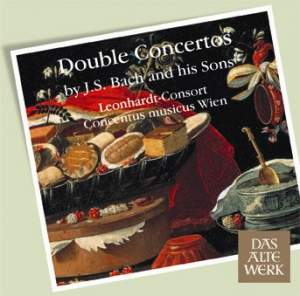 Double Concertos by JS Bach and his Sons