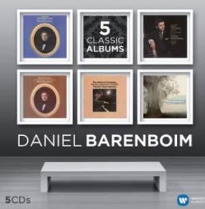 Daniel Barenboim - 5 Classic Albums