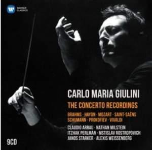 Carlo Maria Giulini: The Concerto Recordings