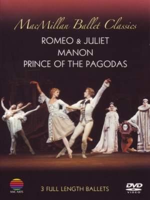 MacMillan Ballet Classics: Romeo & Juliet, Manon & Prince of the Pagodas