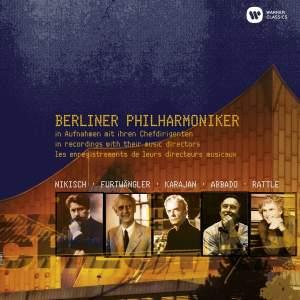 Berliner Philharmoniker in recordings with their music directors