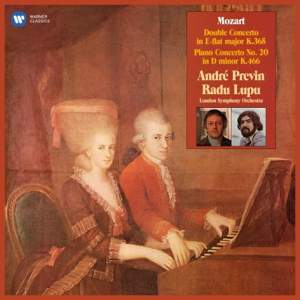 Mozart: Concerto for 2 Pianos & Piano Concerto No. 20 - Vinyl Edition Product Image