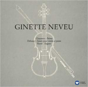 Ginette Neveu plays Debussy, Chausson & Tzigane - Vinyl Edition Product Image