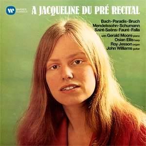 A Jacqueline du Pré Recital (Original Jacket)