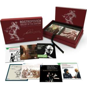 Rostropovich: Cellist of the Century (Complete) Product Image