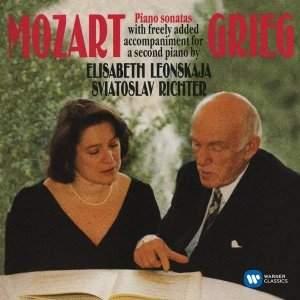 Mozart: Piano Sonatas (arr Grieg for two pianos)