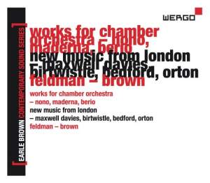 Earle Brown - A Life In Music Volume 2