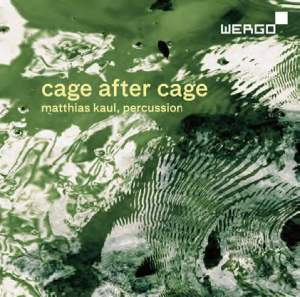 Cage after Cage. Works for Solo Percussion