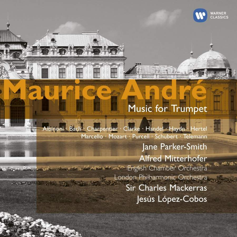 Maurice André - Music for Trumpet - Warner Classics: 4769542 - 2 CDs