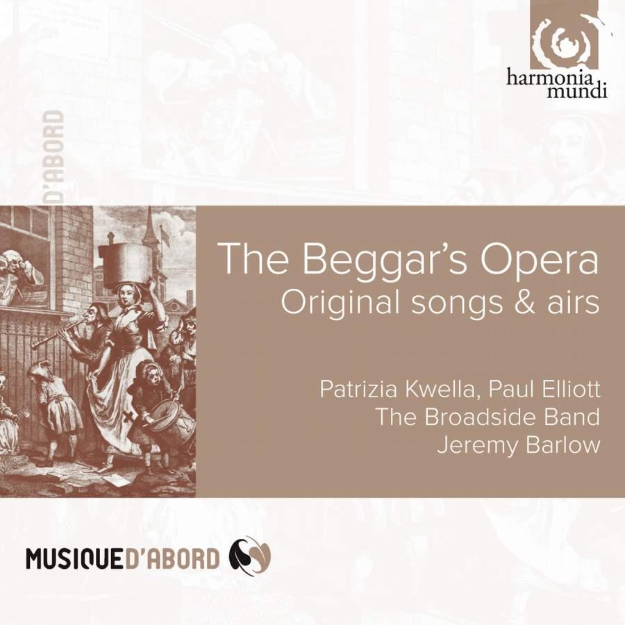 Gay: The Beggar's Opera: Original songs & airs - Harmonia