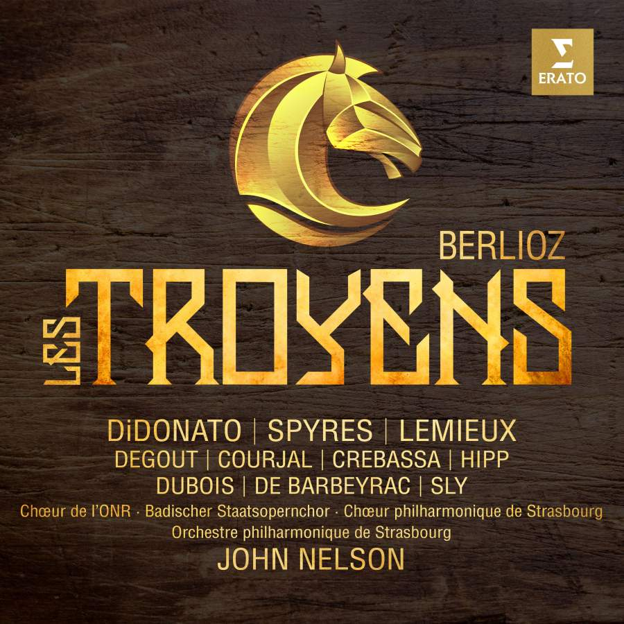 Berlioz: Les Troyens - Erato: 9029576220 - 4 CDs + DVD Video