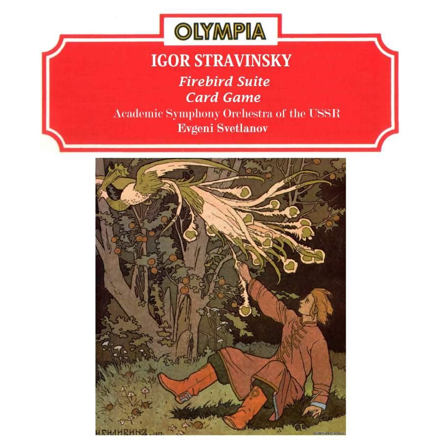Stravinsky: Firebird Suite & Card Game - Olympia: MKM008CD