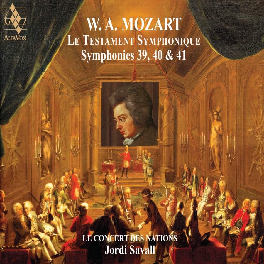 Mozart: Le Testament Symphonique - Alia Vox: AVSA9934 - 2 SACDs or