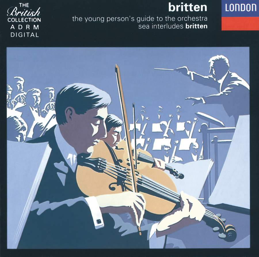 Britten Young PersonS Guide To The Orchestra