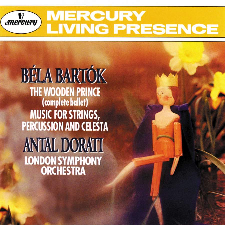Bartók The Wooden Prince And Music For Strings Percussion