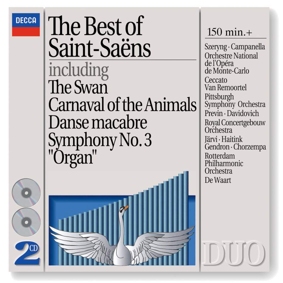 The Best Of Saint Sa 235 Ns Decca 4426082 2 Cds Or