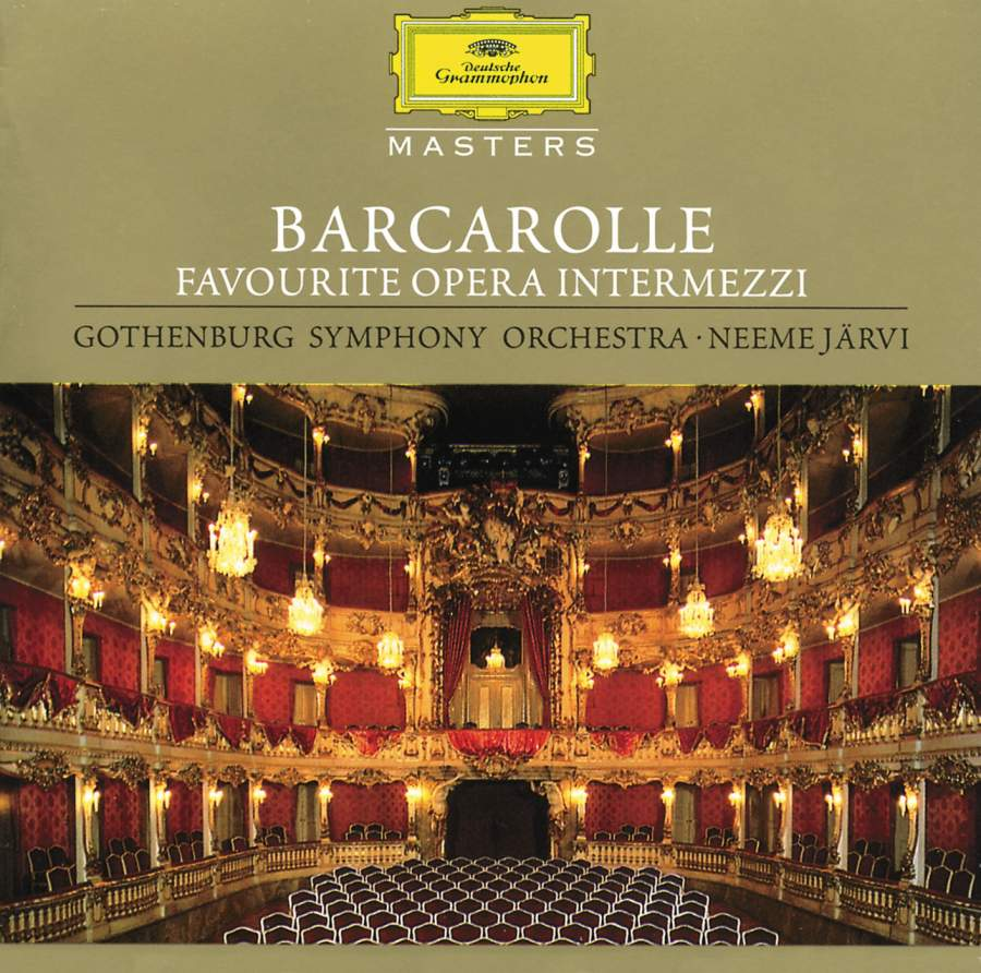 Barcarolle The Opera And I >> Barcarolle Favourite Opera Intermezzi Dg 4456092 Download