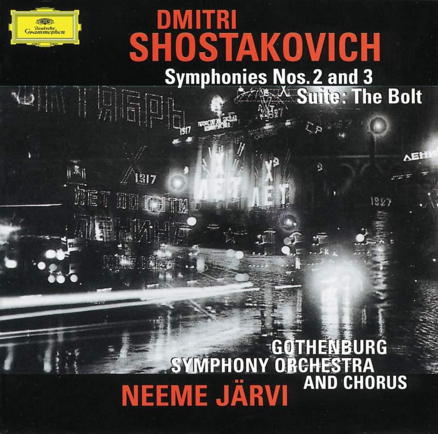 Shostakovich: Symphony No  2 in B major, Op  14 'To October', etc