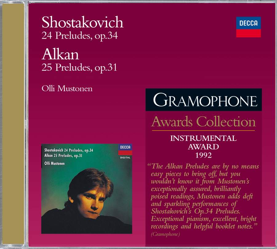 Shostakovich & Alkan: Preludes for Piano - Decca: 4752122 - Presto