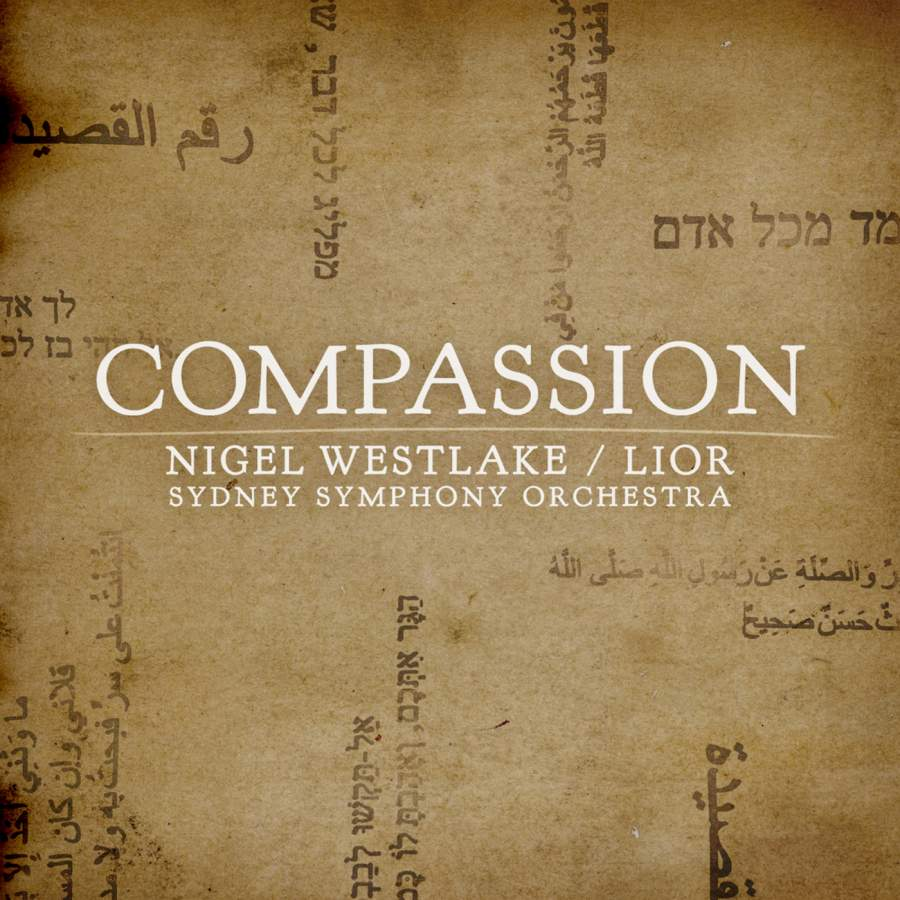 Westlake: Compassion - ABC Classics: ABC4810678 - CD or