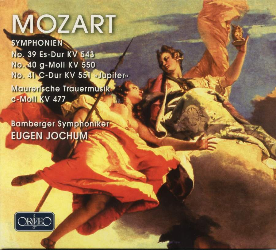 Mozart: Symphonies Nos  39-41 - Orfeo: C045832A - 2 CDs or download