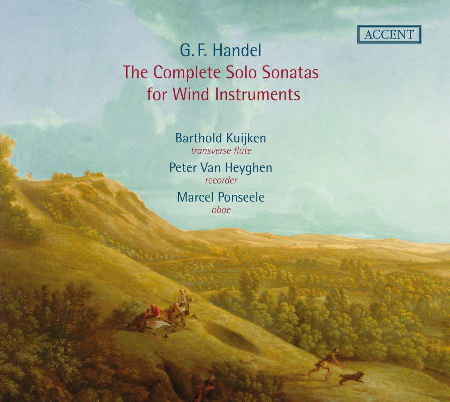 Handel Complete Sonatas For Wind Instruments Accent Acc24308 2