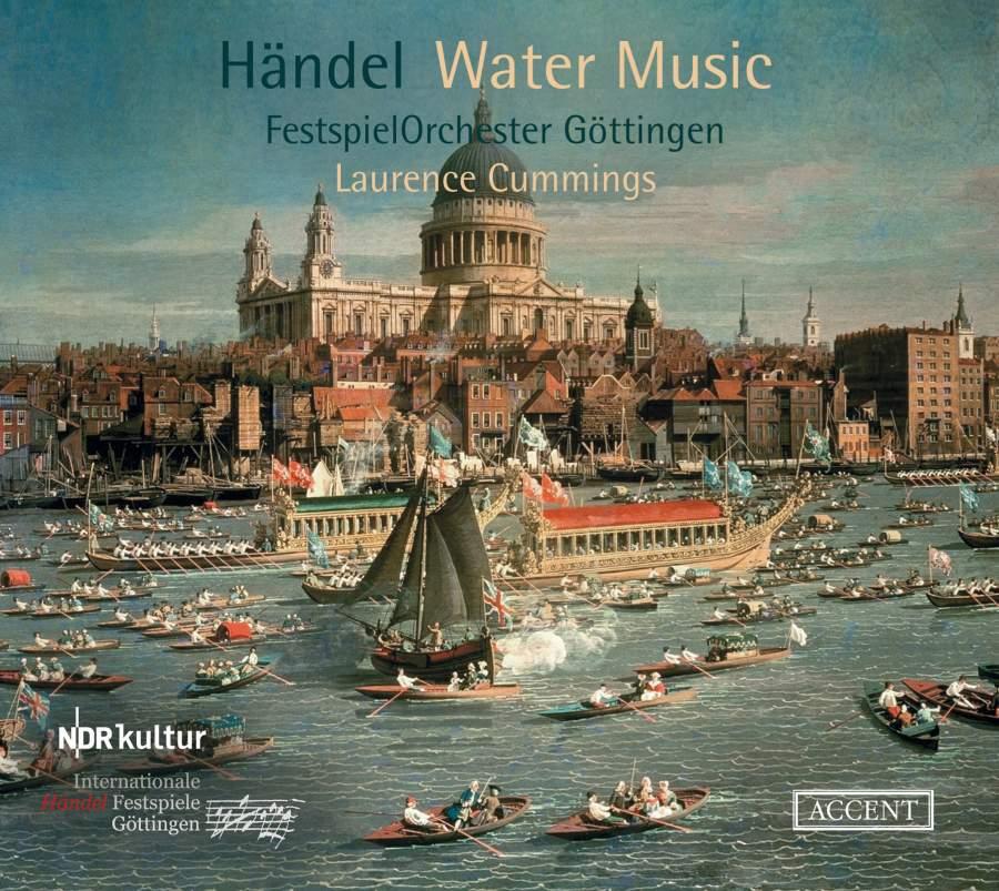 Handel: Water Music - Accent: ACC26407 - CD or download | Presto ...