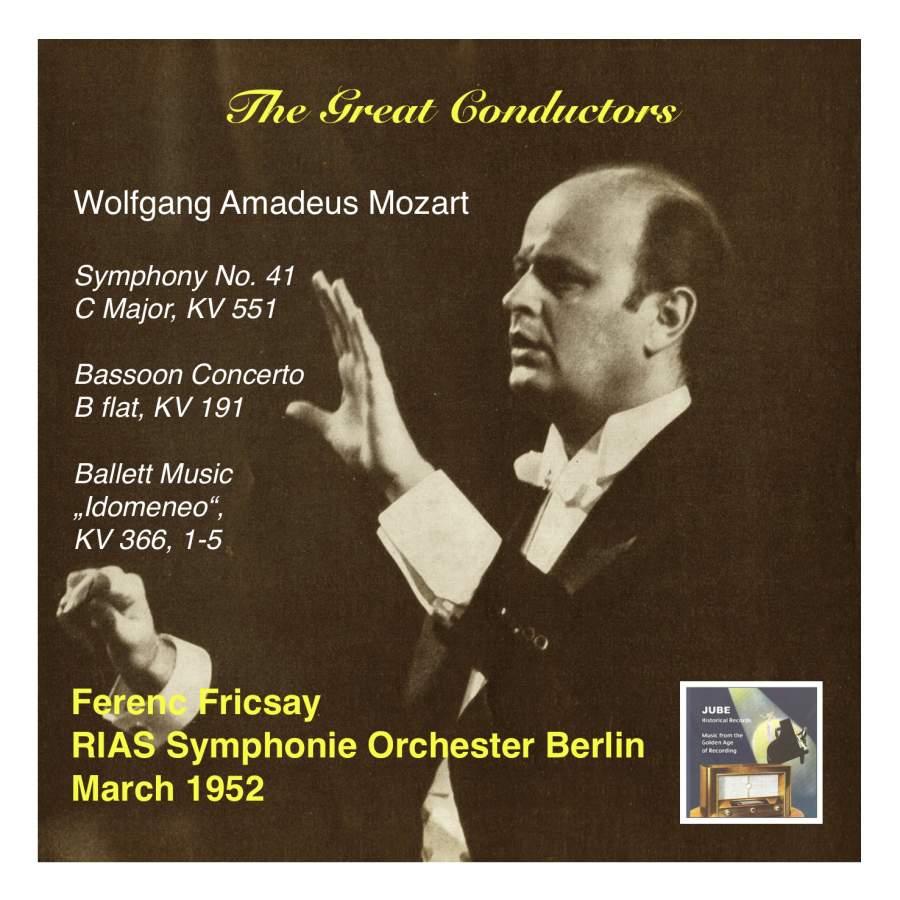 Mozart: Symphony No  41 in C major, K551 'Jupiter' & Bassoon