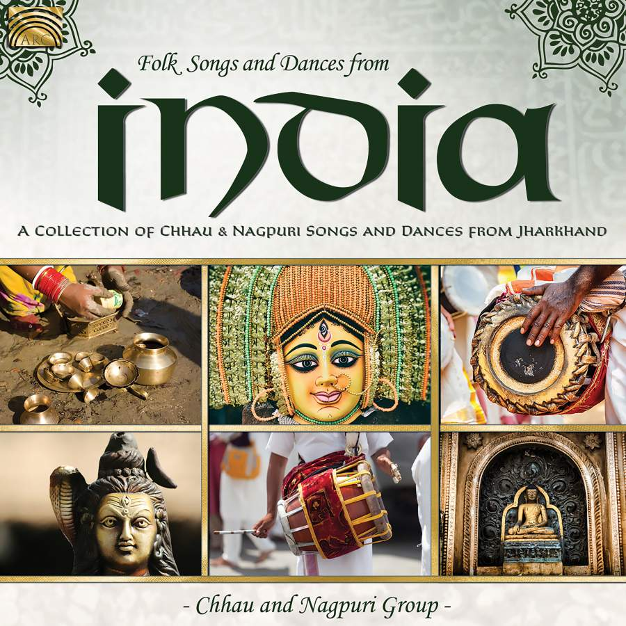 folk songs dances from india a collection of chhau nagpuri song