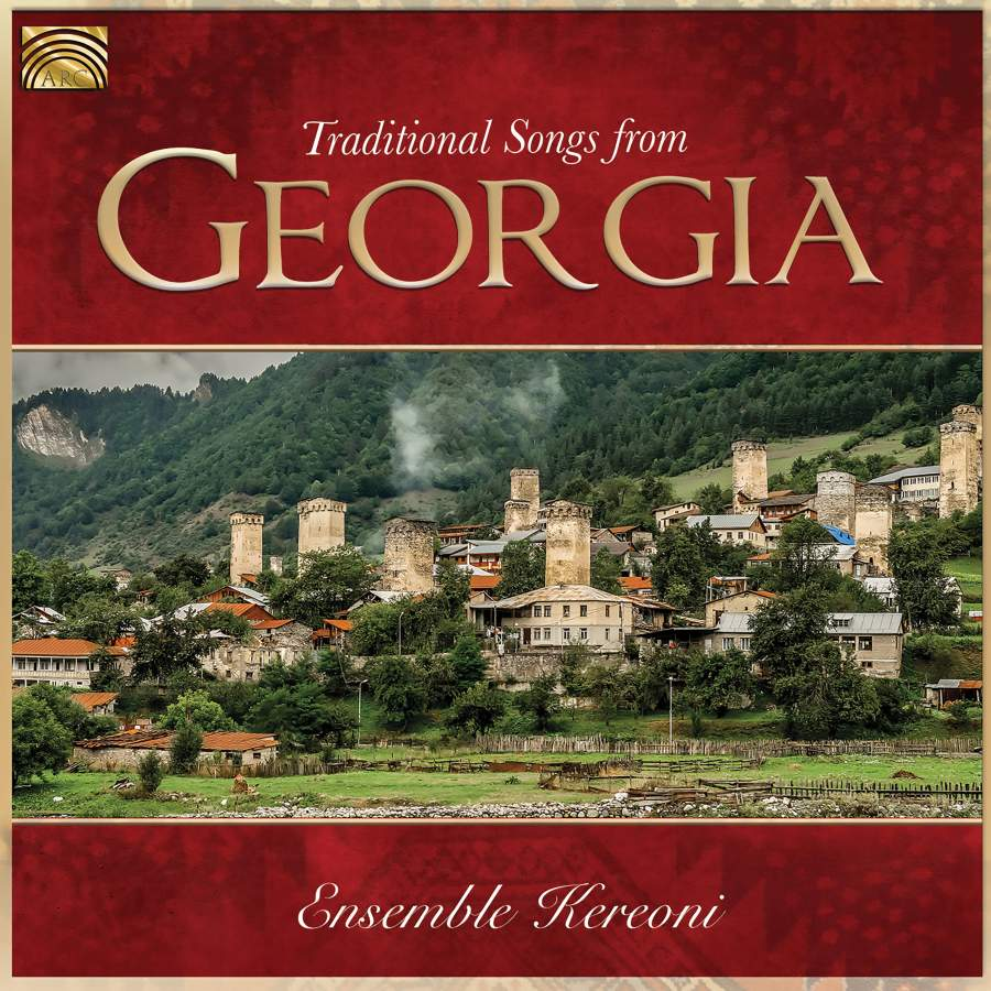 Traditional Songs from Georgia - ARC Music: EUCD2819 - CD or