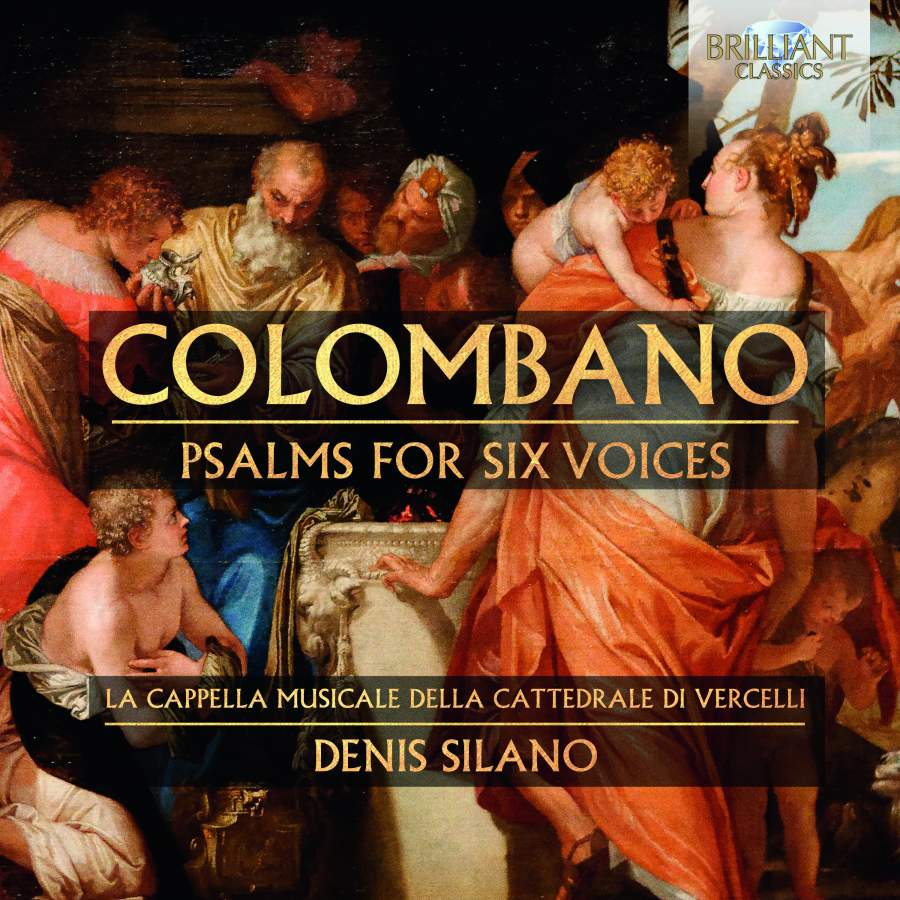 Colombano: Psalms for Six Voices - Brilliant Classics: 95839