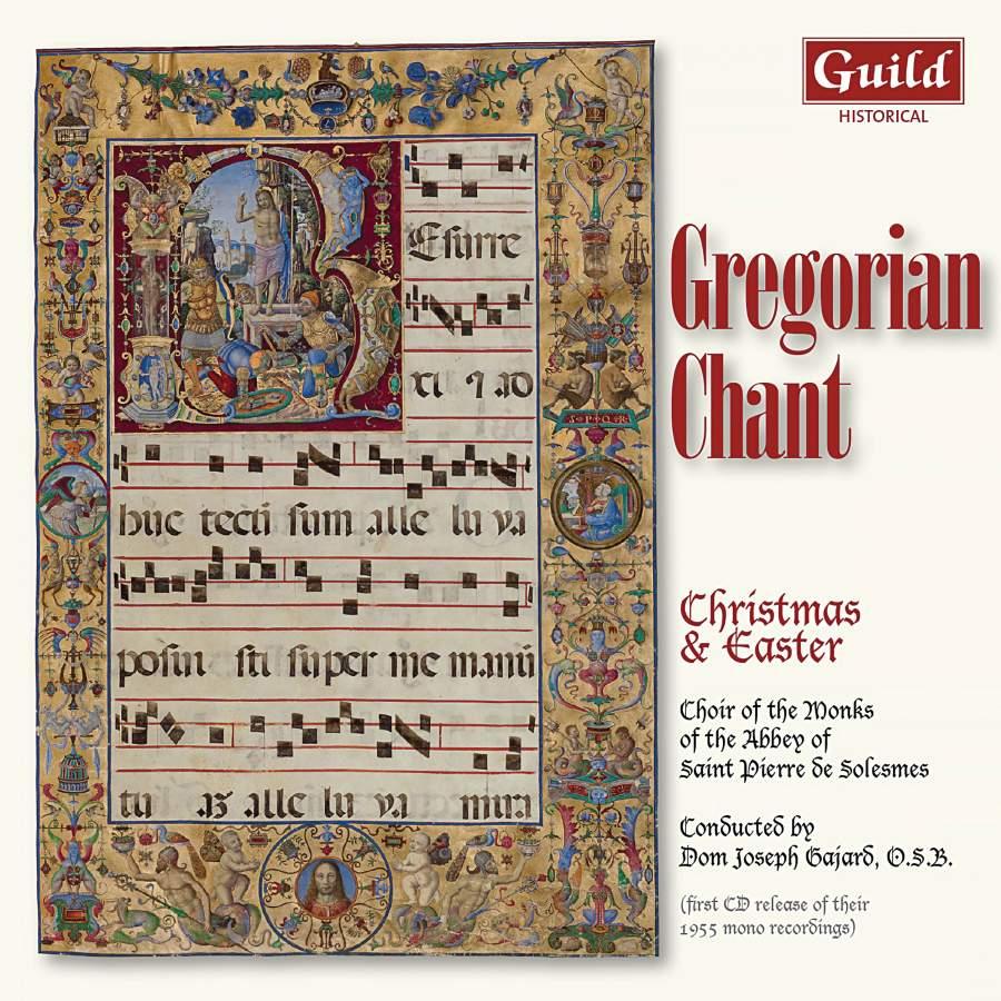 Gregorian Christmas Chants.Gregorian Chant Christmas Easter Guild Ghcd3503 Cd