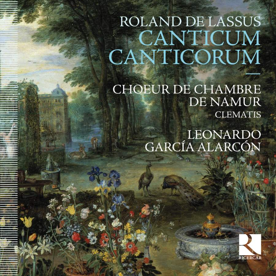 Roland De Lassus Canticum Canticorum Ricercar Ric370