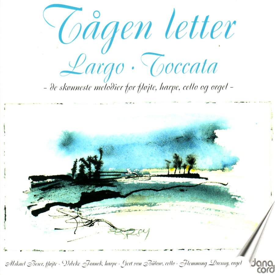 Tågen Letter  The most beautiful music for flute, harp  cello and