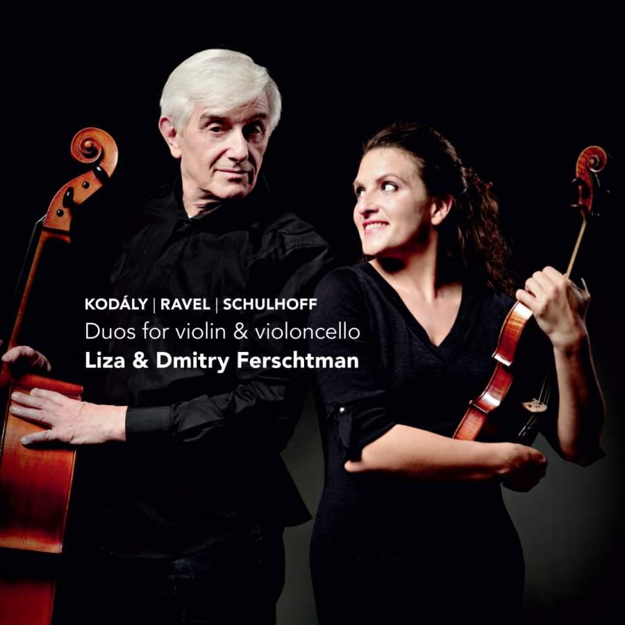 Liza & Dmitry Ferschtman: Duos for Violin & Cello - Challenge