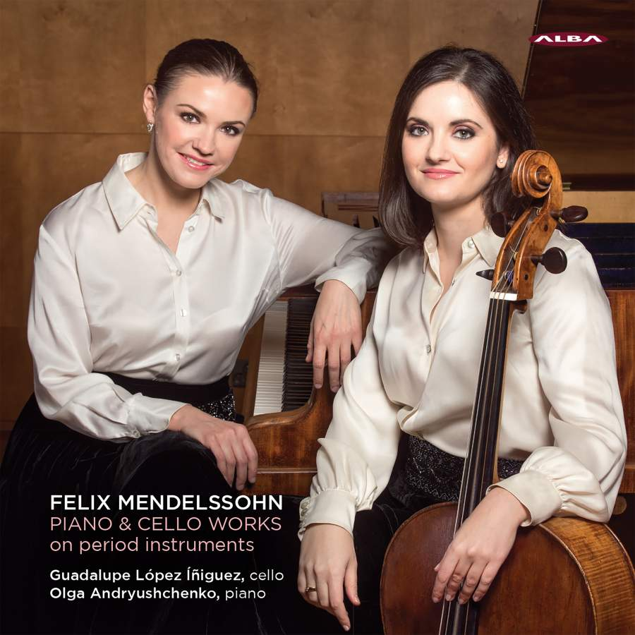 Mendelssohn: Piano & Cello Works - Alba: ABCD434 - SACD or