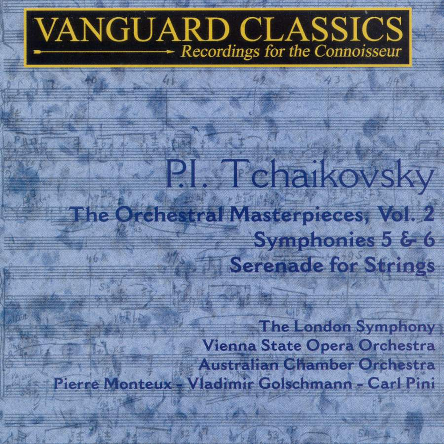Piotr Ilyitch Tchaikovsky - Orchestral masterpieces, volume 2 ...