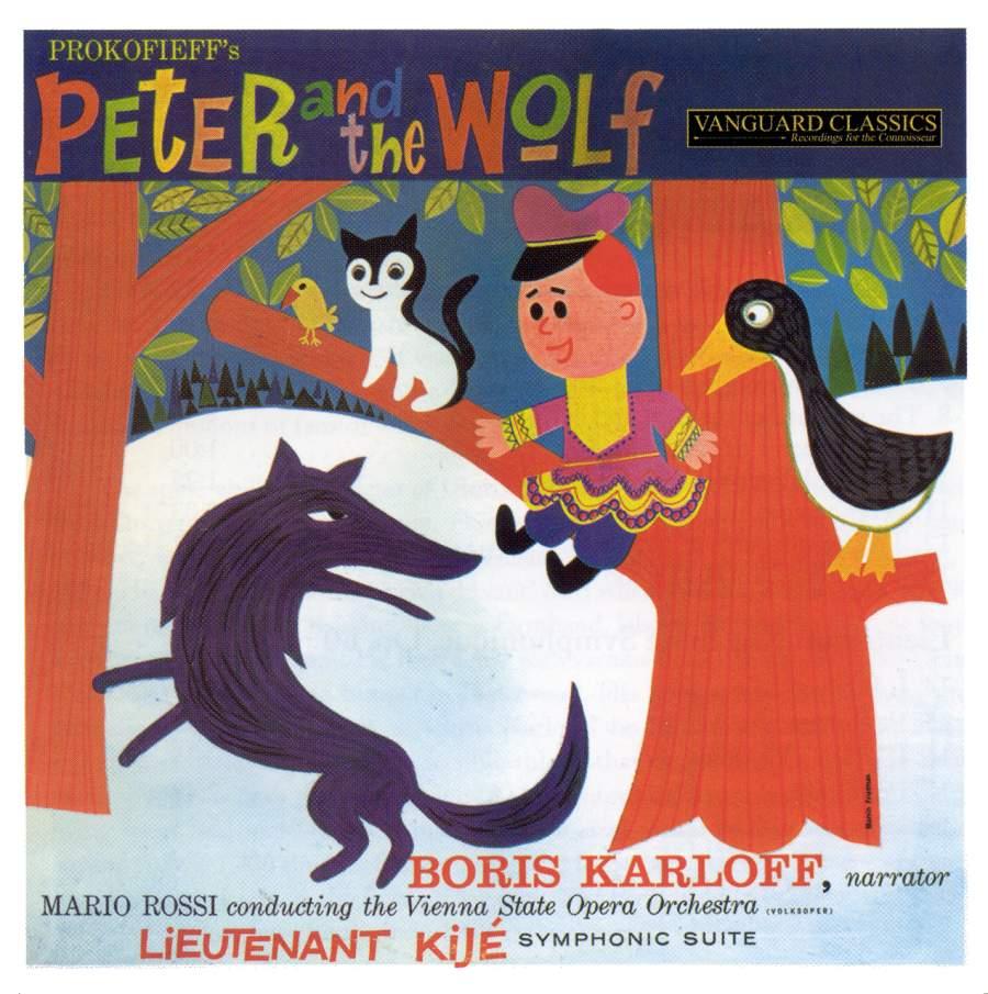 Prokofiev: Peter and the Wolf & Lieutenant Kije Suite - Vanguard ...