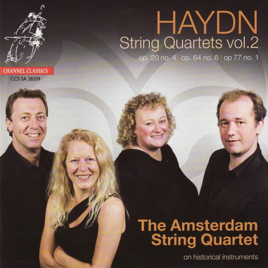 Haydn - String Quartets Volume 2 - Channel: CCSSA28209 - SACD or