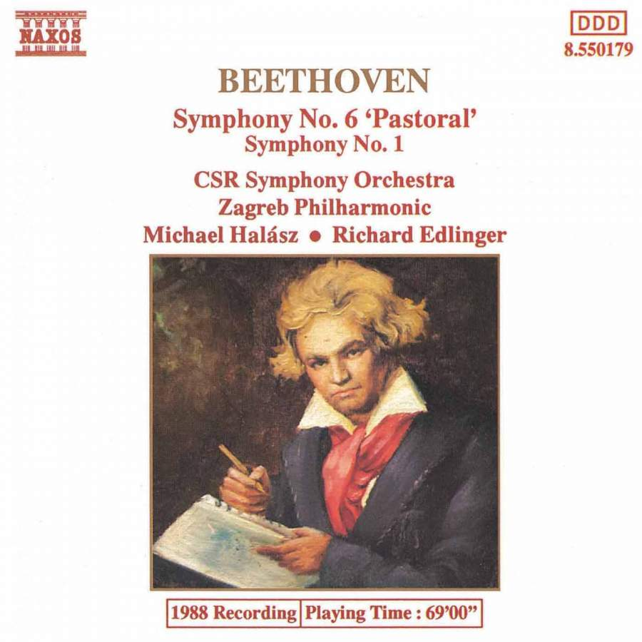Beethoven: Symphonies Nos  6 and 1 - Naxos: 8550179