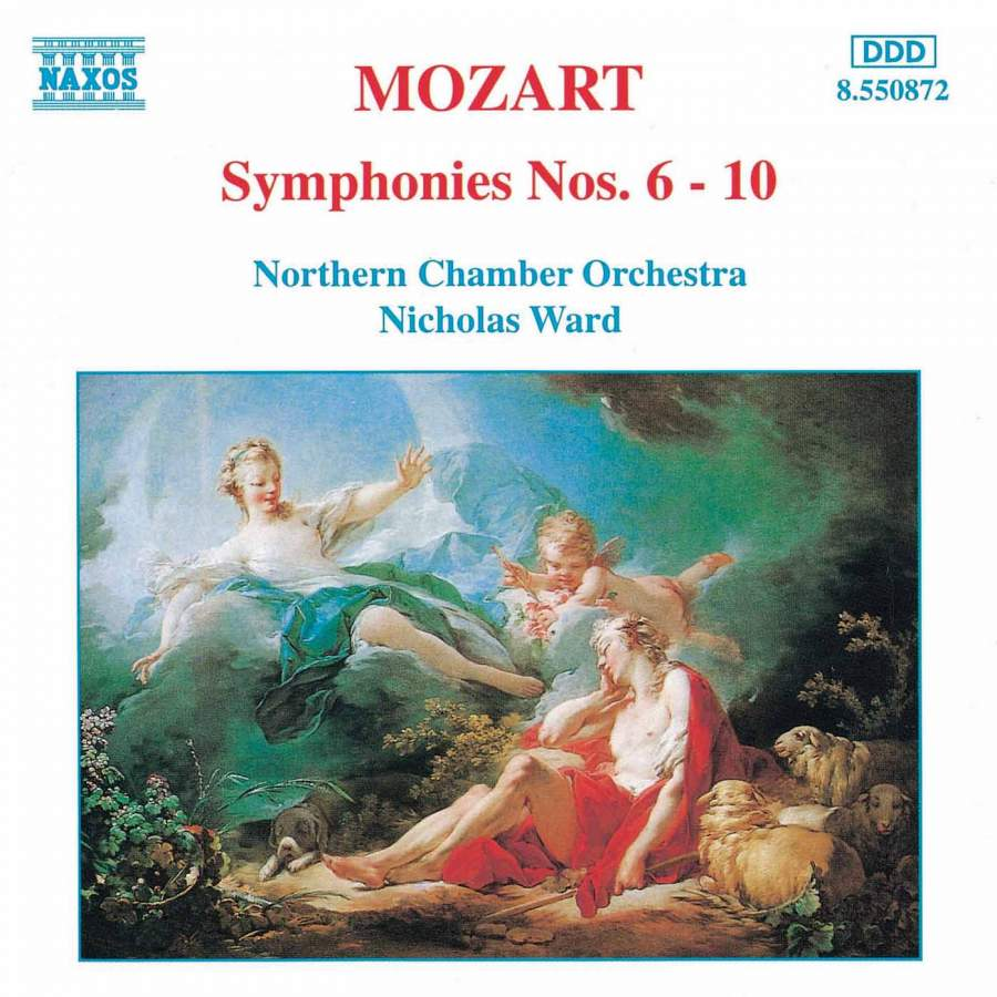 Mozart: Symphonies Nos  6-10 - Naxos: 8550872 - CD or