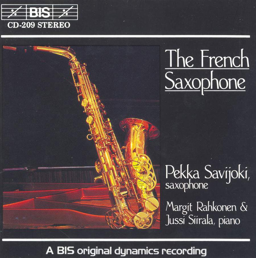 The French Saxophone Bis Biscd209 Cd Or Download Presto Classical