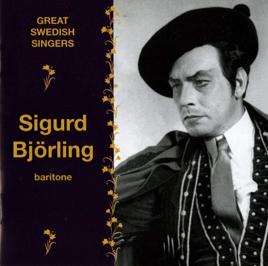 Great Swedish Singers: Sigurd Björling - Bluebell: ABCD104