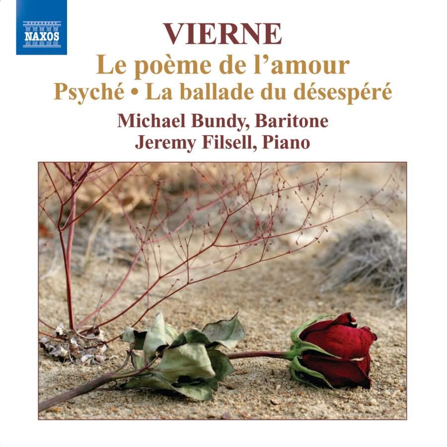 Louis Vierne Le Poème De Lamour Naxos 8572346 Cd Or
