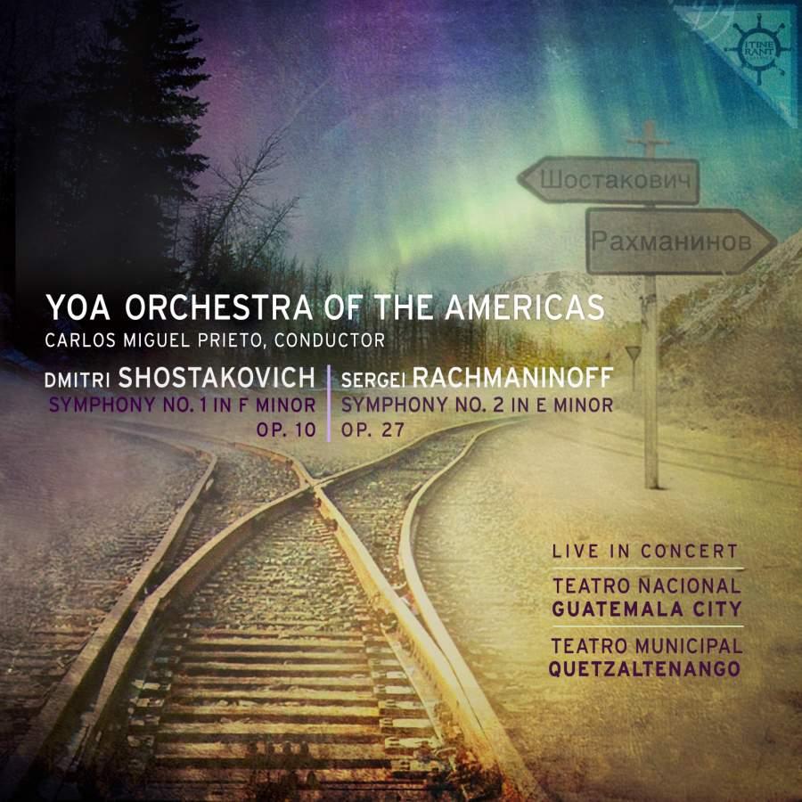 Shostakovich: Symphony No  1 in F Minor - Rachmaninoff: Symphony No