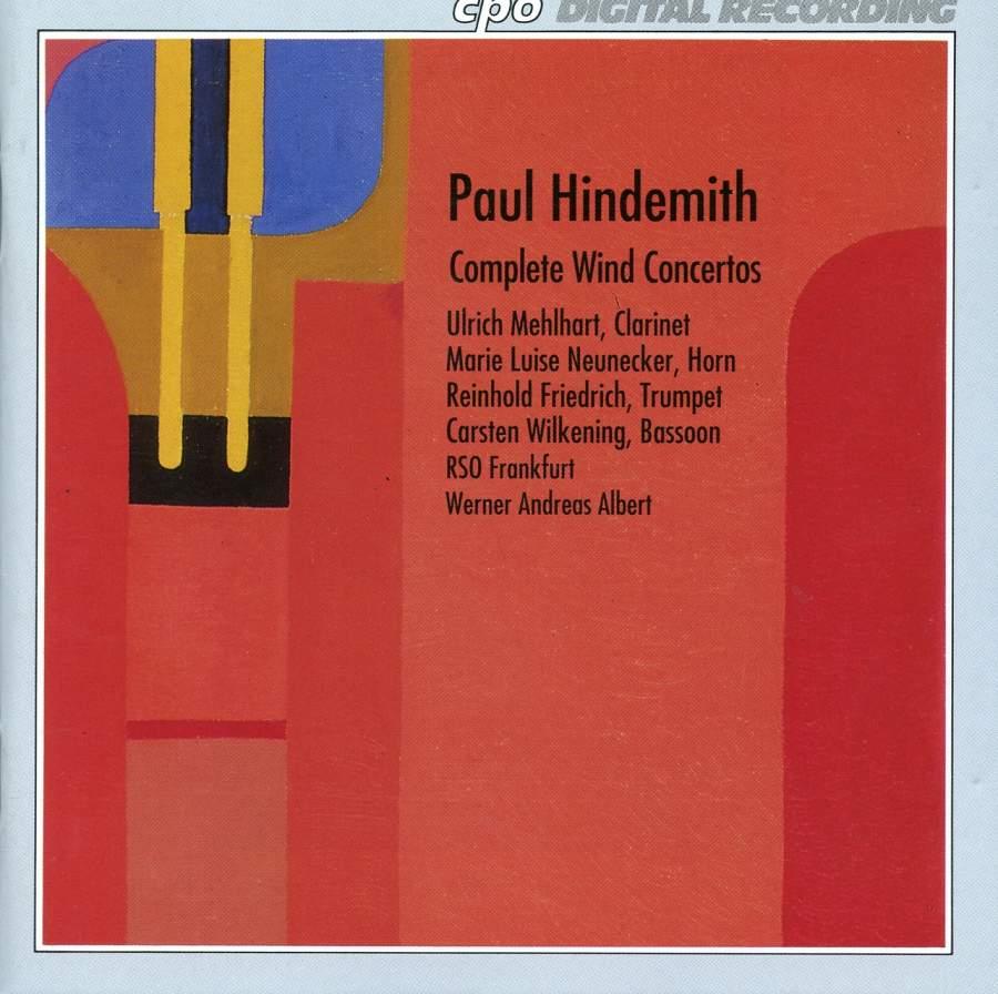 Hindemith: Complete Wind Concertos - CPO: 9991422 - download