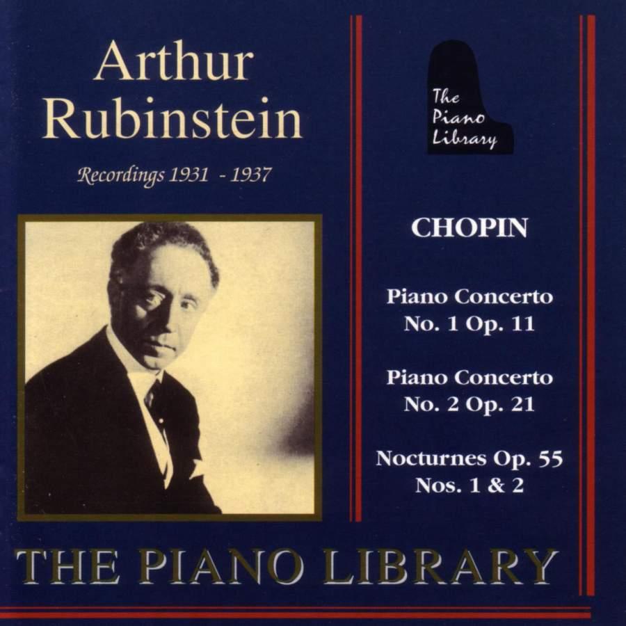 Arthur Rubinstein - Chopin Recordings 1931 - 1937 - Fono